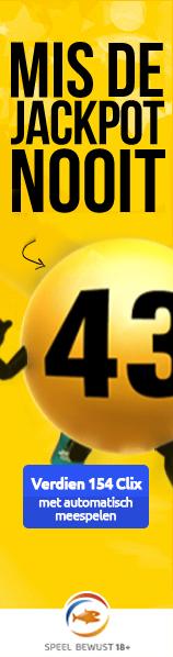 Automatisch meespelen met Lotto en € 20 op je rekening gestort krijgen