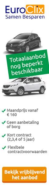 Een nieuwe auto tegen de scherpste maandprijs