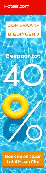 Profiteer van kortingen tot 40% op hotels, tijdens de summer sale