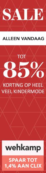 wehkamp VIP sale tot 85% korting op mode