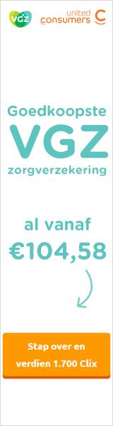 UnitedConsumers Zorgverzekering VGZ premie vanaf € 104,58