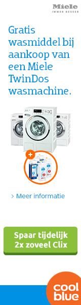 Coolblue wasmachines 6 maanden gratis wasmiddel
