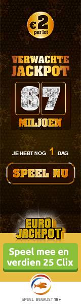 Eurojackpot 67 miljoen euro jackpot speel mee en win