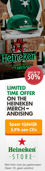 Heineken Store tot 50% korting Black Friday Cyber Monday